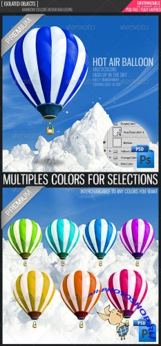 GraphicRiver - Hot Air Balloon Templates