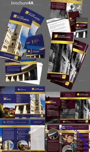 Brochure Set Series 4 - GraphicRiver