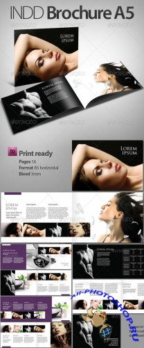 INDD Brochure - booklet A5 - GraphicRiver