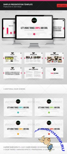 Simplio Presentation Template – GraphicRiver