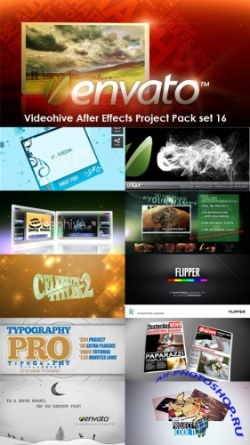 Videohive After Effects Project Pack Set 16