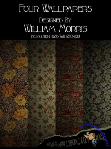 William Morris Textures Pack