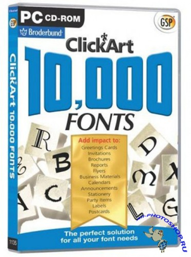 10 000 Unique Font Collection