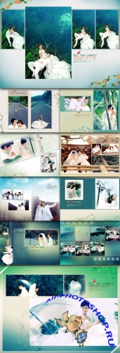 Wedding Photo Templates - Gently tell you