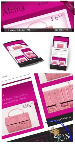 InDesign Brochure PSD Template