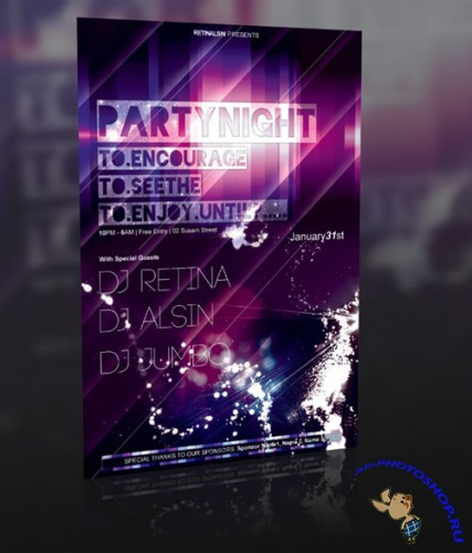 GraphicRiver Event Flyer Template Vol.1