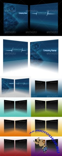 GraphicRiver - Business Card Display Actions