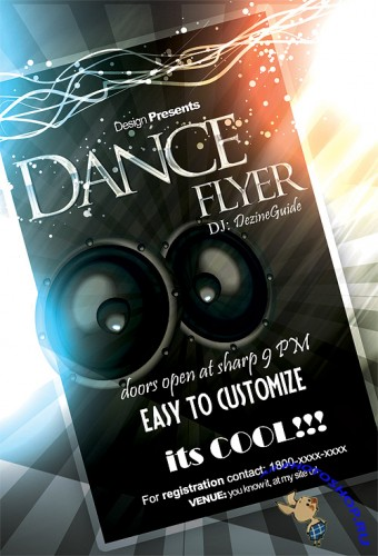 Dance Flyer/Poster Template