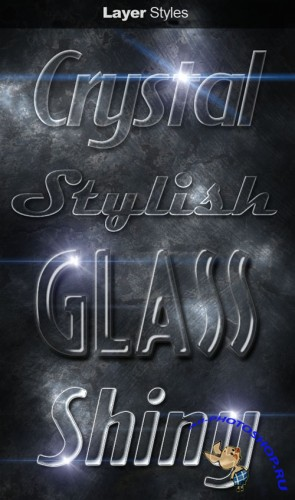 Glass Layer Styles for Photoshop