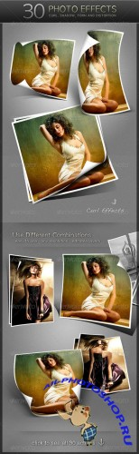 Graphicriver - 30 Photo Effects