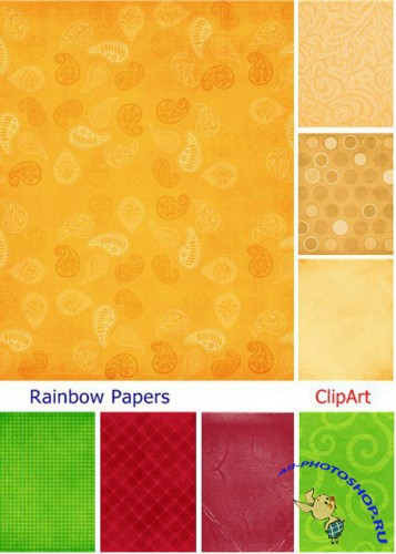 Rainbow Papers Textures Pack