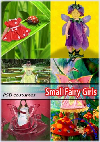Сказочные Феи | Small Fairy Girls (PSD costumes)