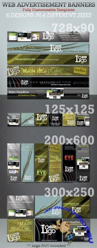 Web Advertisement Banner Templates - Megapack - GraphicRiver