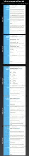 Web Business Collateral - Contract, Proposal - GraphicRiver