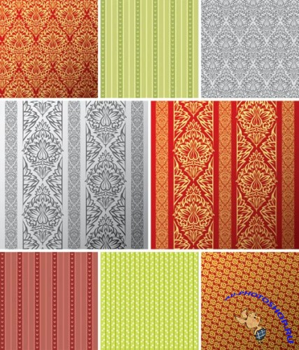 Seamless Vintage Backgrounds