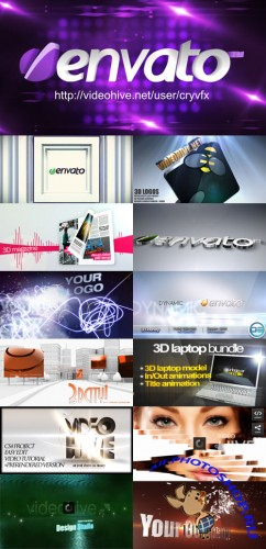 AE Projects - 3D Bundle Pack