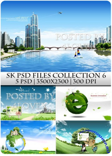 SK PSD files Collection 6
