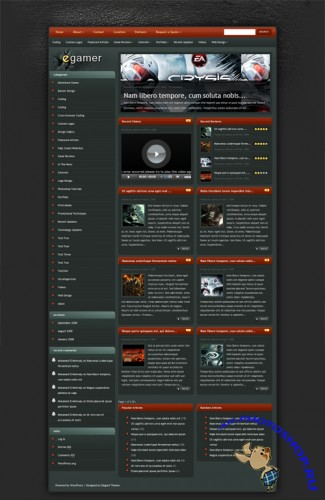 eGamer v4.1 Update ElegantThemes WordPress Theme