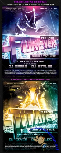 GraphicRiver - Forever Poster/Flyer Template