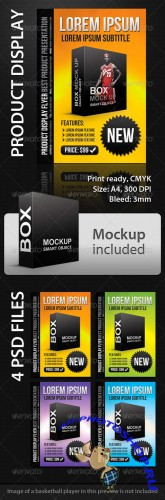 Graphicriver – Product Display A4 Flyer