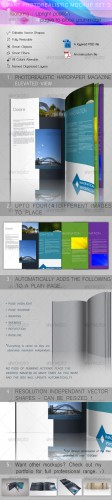 Smart Photorealistic Mockup Set 3 - GraphicRiver