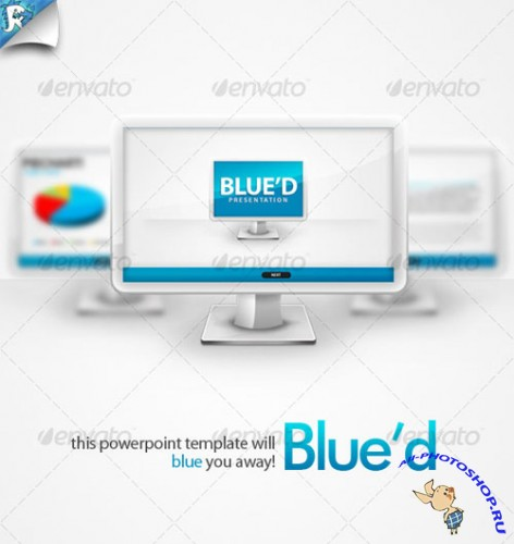 GraphicRiver - Blue'd Presentation - Blue you away