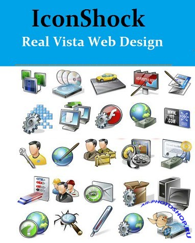 Icon Shok - Real Vista Web Design vector Sources
