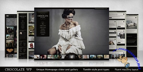 TemplateForest - Chocolate WP Theme v1.0.1 for Wordpress v3.x