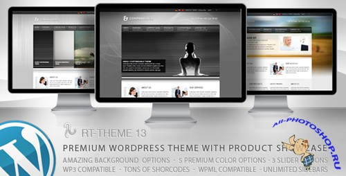 ThemeForest - RT-Theme 13 v1.0.3 for Wordpress v3.x