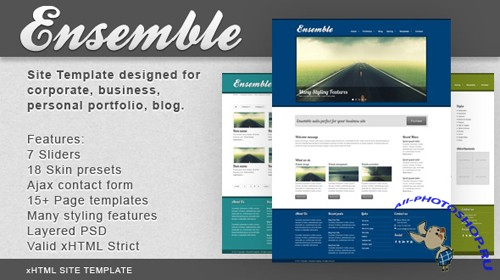 MojoThemes - Ensemble Site Template - RiP