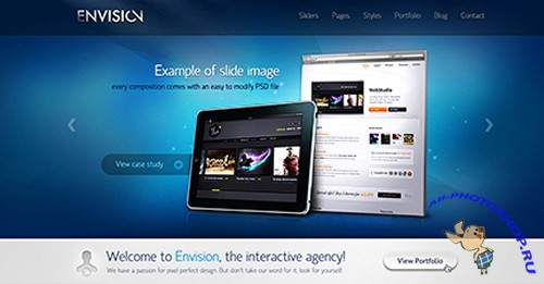 Envision v1.0.1 UPDATED 26022011 for Wordpress
