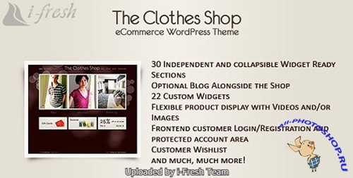 The Clothes Shop 1.0.9 - ThemeForest Wordpress Theme