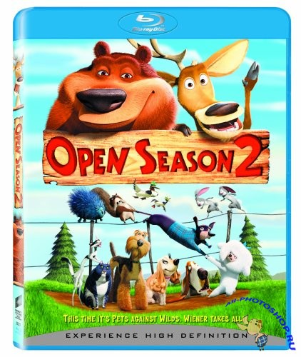 Сезон охоты 2 / Open Season 2 (2008) BDRip (AVC) x264