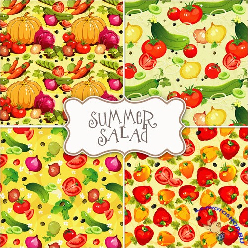 Textures - Vegetables Backgrounds