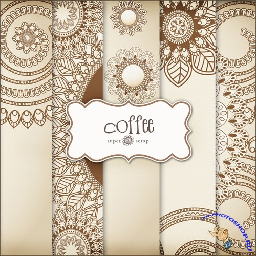 Textures - Coffee Backgrounds #3