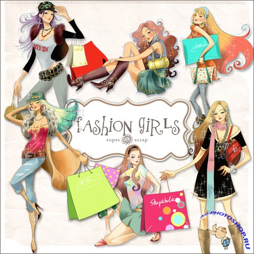 Scrap-kit - Fashion Girls