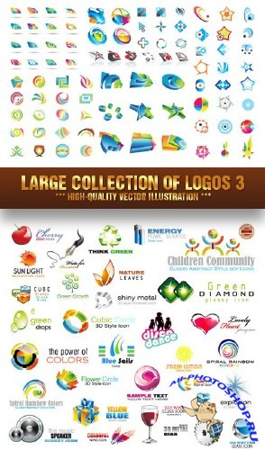 Stock Vector - Large Collection of Logos 3 | ������� ��������� ��������� 3