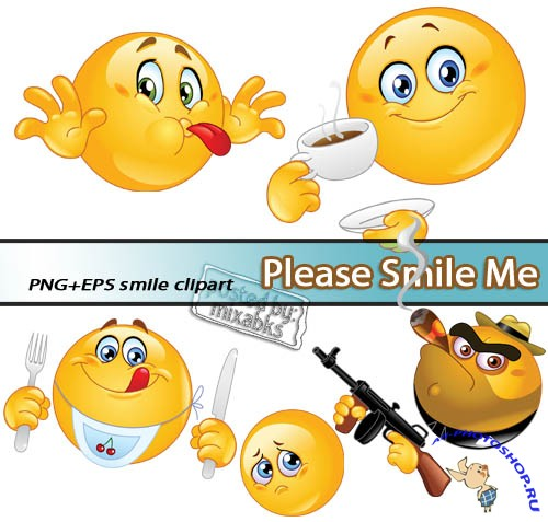 �������� ��� | Smile to Me (PNG + EPS)