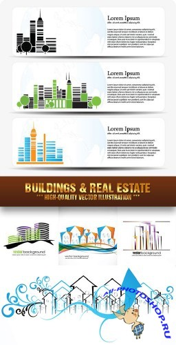 Stock Vector - Buildings & Real Estate | ������ � ������������