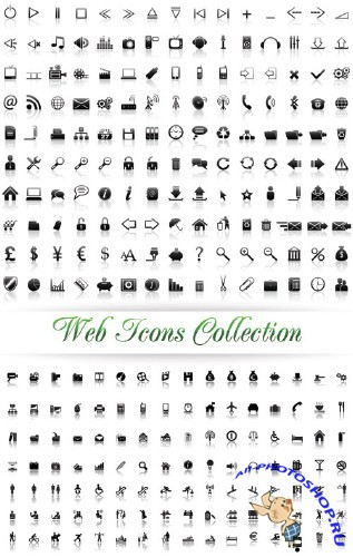 Stock Vector - Web Icons Collection | ��������� web ������