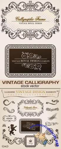 Vintage calligraphy 7 | ��������� ������� 7