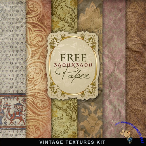 Textures - Old Vintage Backgrounds #44