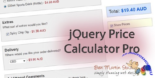 Codecanyon - jQuery Price Calculator Pro (RIP)