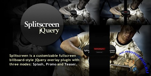 Codecanyon - jQuery Splitscreen Plugin (Full Rip)