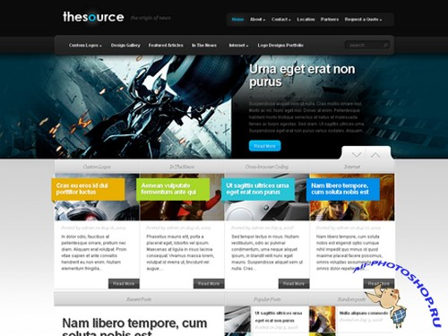 TheSource v2.8 Wordpress Professional Theme From Elegantthemes