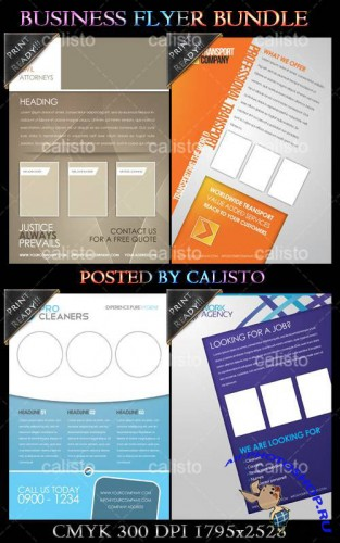 PSD Template - Business Flyer Bundle