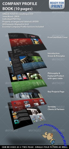 GraphicRiver - Professional Company Profile Brochure (10 pages)