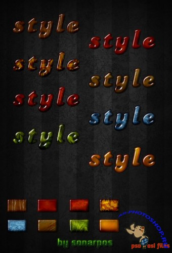 Exclusive Colourful Text Styles for Photoshop #3