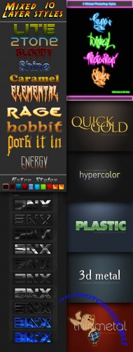 Mix-styles for Photoshop