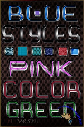 Photoshop Styles - Color